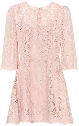 Dolce & Gabbana Lace minidress