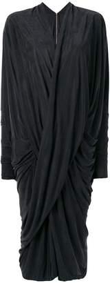 Poiret reversible draped dress
