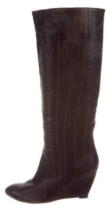 Belle by Sigerson Morrison Leather Knee-High Boots