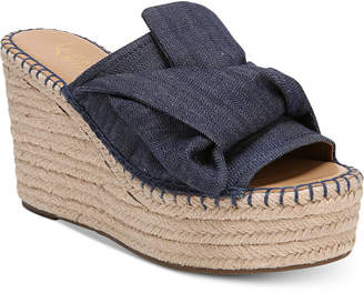 Franco Sarto Talinda 2 Platform Espadrille Wedge Sandals Women's Shoes