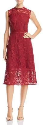 Aqua Lace Midi Dress - 100% Exclusive