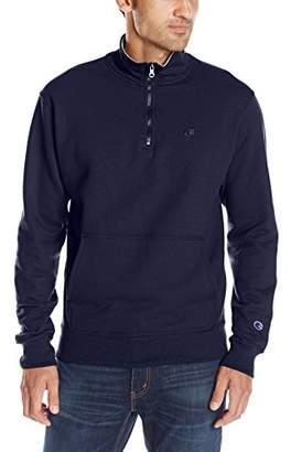 Champion Men's Powerblend Quarter-Zip Fleece Jacket