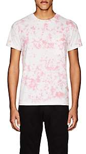 NSF Men's Tie-Dyed Cotton T-Shirt-Pink