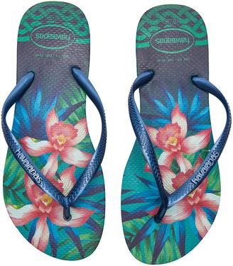 Havaianas Slim Tropical Sandal $34 thestylecure.com
