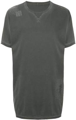 MHI elongated loose T-shirt