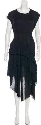 Preen Line Scoop Neck Maxi Dress