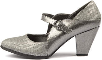 I Love Billy Craving Pewter Shoes Womens Shoes Casual Heeled Shoes