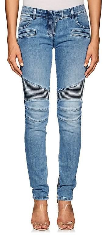 Women's Classic Biker Slim Jeans
