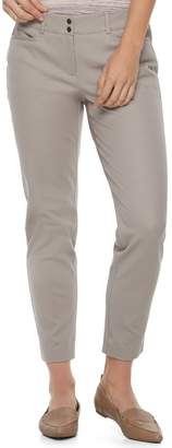 Apt. 9 Women's Bistretch Midrise Ankle Pants