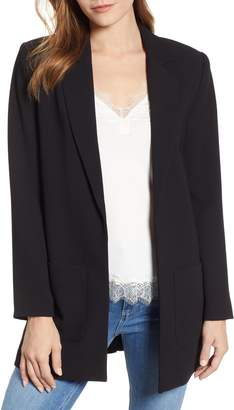 1 STATE 1.STATE Textured Crepe Blazer
