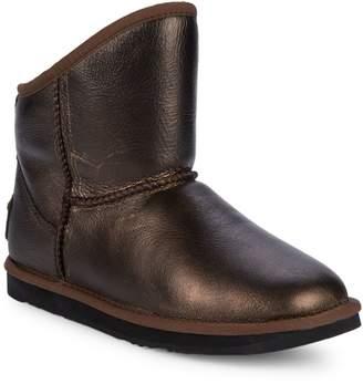 Australia Luxe Collective Cosy X Short Metallic Boots