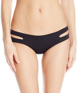 L-Space L Space Sensual Solids Estella Bikini Bottom - Women's