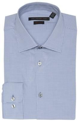 John Varvatos Micro Check Regular Fit Dress Shirt