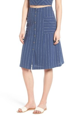 Women's Astr The Label Mallory A-Line Skirt $88 thestylecure.com