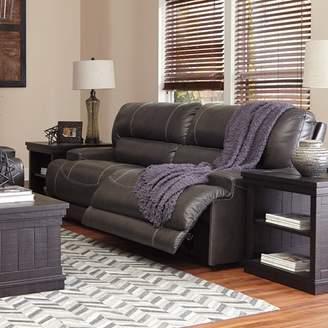Red Barrel Studio Casey Leather Reclining Sofa