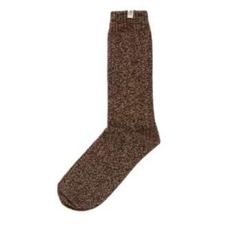 BEIGE 40 Colori Melange Thick Ribbed Organic Cotton Socks