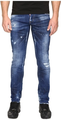 DSQUARED2 - Slim White Hi Light Jeans in Blue Men's Jeans $590 thestylecure.com