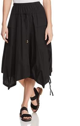 Donna Karan Midi-Length Trapeze Skirt