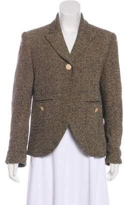 Sonia Rykiel Structured Tweed Blazer