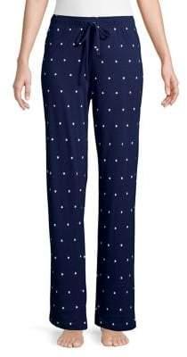 Lord & Taylor Starry Pajama Pants
