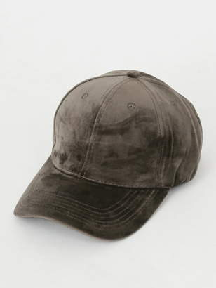 CECIL McBEE (セシル マクビー) - CECIL McBEE ベロアキャップ セシルマクビー 帽子/ヘア小物