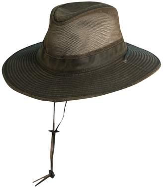 Kohl's Big-Brim Supplex Weathered Safari Hat - Men