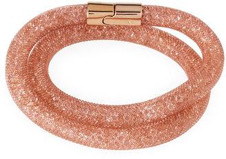 Swarovski Stardust Convertible Crystal Mesh Bracelet/Choker, Pink, Medium $60 thestylecure.com