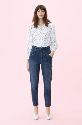 Rebecca Taylor La Vie Tie Waist Jean