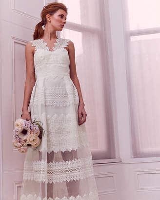 Ted Baker MORNIA Layered lace maxi dress