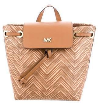 MICHAEL Michael Kors Junie Woven Backpack w/ Tags