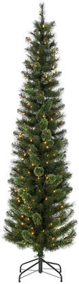 Sterling Tree Company 7.5Ft Hard Mixed Needle Cashmere Pencil Tree