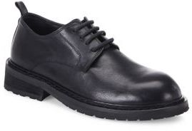 Ann Demeulemeester Leather Lace-Up Oxfords $780 thestylecure.com