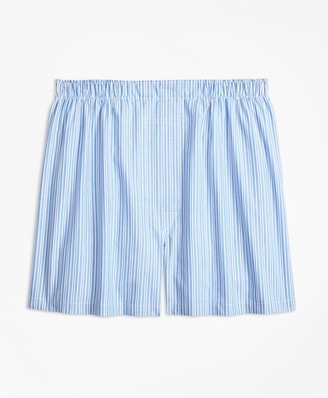 Brooks Brothers Traditional Fit Split Stripe Boxers