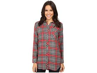 KUT from the Kloth Collin Women's Long Sleeve Button Up