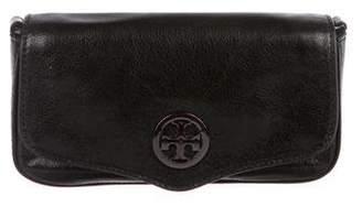 Tory Burch Glazed Leather Clutch