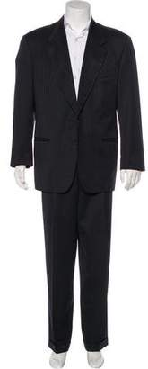 Valentino Striped Wool Suit