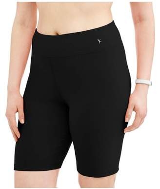 Danskin Women's Plus Active Bike Shorts