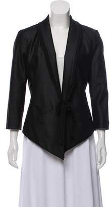 Edun Structured Shawl Collar Blazer