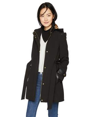 Via Spiga Women's Soft Shell Jacket with Hood