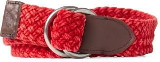 Ralph Lauren Braided Cotton O-Ring Belt