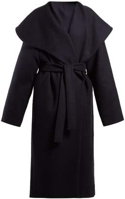 The Row Utan cape-collar wool coat