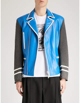Undercover All Access leather jacket
