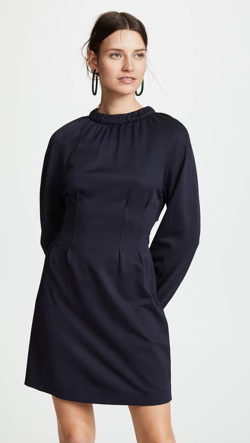 Corset Waist Shift Dress