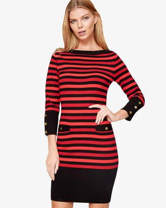 Phase Eight Azelia Stripe Knit Dress