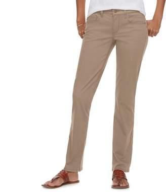 Sonoma Goods For Life Women's SONOMA Goods for Life??? Straight-Leg Sateen Pants