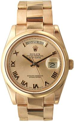 Rolex Day Date 36mm Gold Pink gold Watches