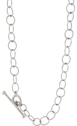 Cathy Waterman Lacy Chain Necklace - Platinum