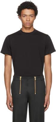 Helmut Lang Black Skinny Tall Military T-Shirt