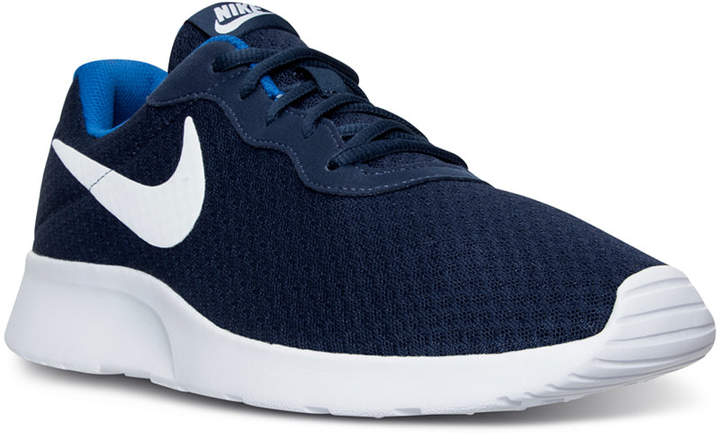 Nike Men's Tanjun Casual Sneakers from Finish Line