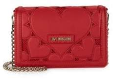 Love Moschino Heart Patch Crossbody Bag